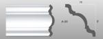 Beltéri polisztirol díszléc A-20 képe